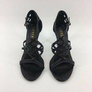Lauren Ralph Lauren Womens Heeled Dress Sandals